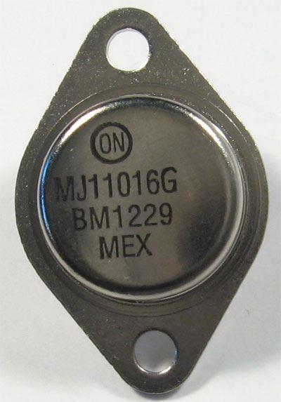 MJ11016 N darl. 120V/30A 200W 4MHz TO3 ON semi