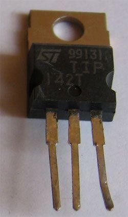 TIP142T N darl. 100V/10A 90W TO220, ST