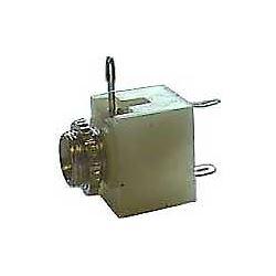 JACK zdířka 3,5 mono na panel s vypínačem