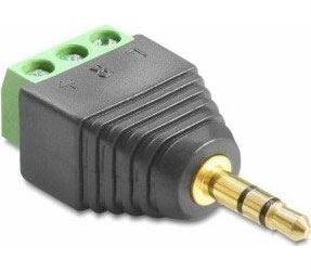 Konektor JACK 3,5 stereo se svorkovnicí