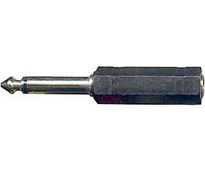 Redukce JACK 6,3 mono konekt/JACK 6,3 stereo zdířk