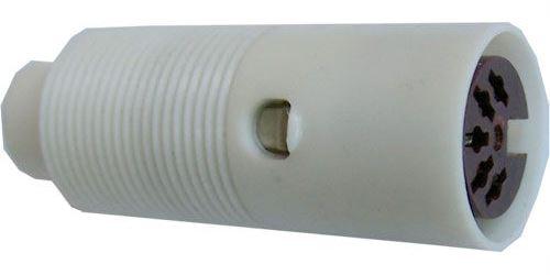 DIN zdířka 5 pol.na kabel TESLA 6AK18026