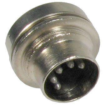 DIN konektor 6AF89599 5pol.panelový