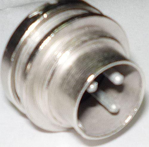 DIN konektor 6AF89599 3pol.panelový