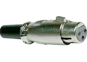 XLR zdířka 3P kabel                   XLR189