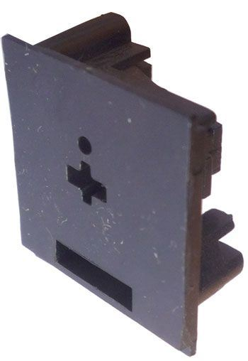 Reprozdířka na panel do DPS s vypínačem