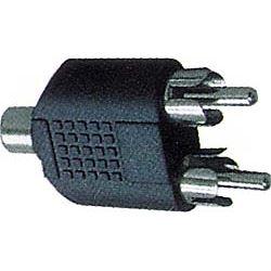 Redukce CINCH zdířka/2x CINCH konektor