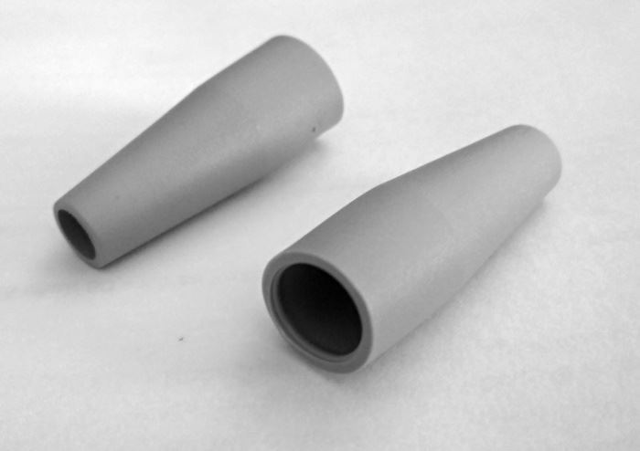 Krytka F konektoru 7mm gumová šedá