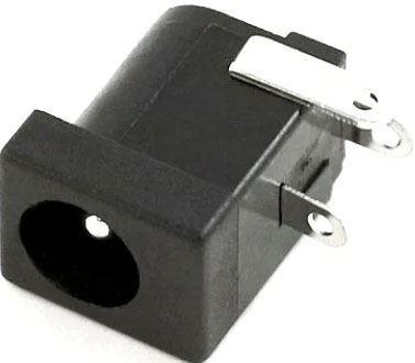 Napájecí DC zdířka 2,1mm do pl.spoje, vypínací kontakt