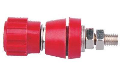 Šroubovací svorka 43mm červená