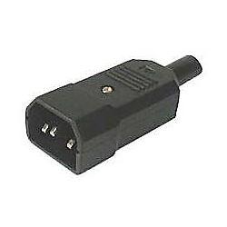 Síťová vidlice 230V k počítači kabelová IEC60320