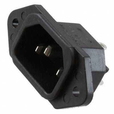 Síťová vidlice 230V k počítači panelová IEC60320