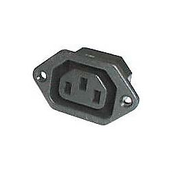 Síťová zásuvka IEC60320 230V na panel