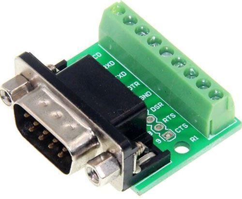 D-SUB (CANON) konektor 9pin přímý se svorkovnicí