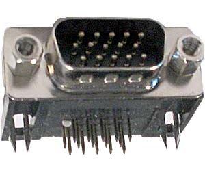 CANON konektor 15pin VGA úhlový