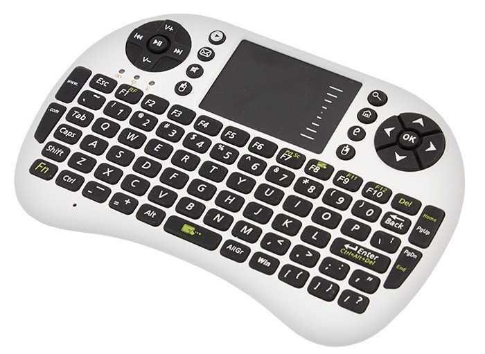 Bezdrátová mini klávesnice s touchpadem