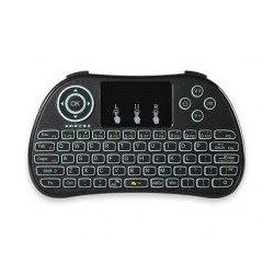 Bezdrátová mini klávesnice s touchpadem, P9