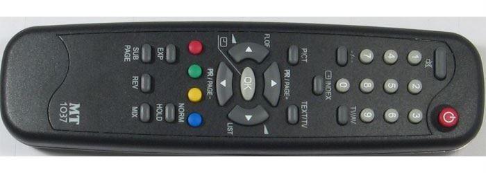 Dálkový ovládač MT1037