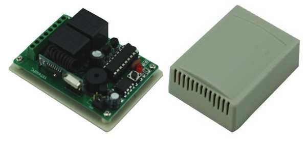 Dálkové ovládání-přijímač YET402 433MHz 2 kanálový, napájení 12V