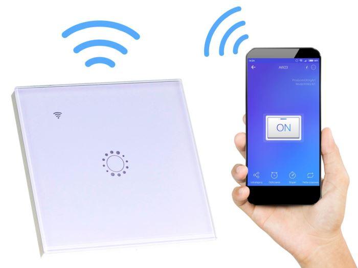 WiFi vypínač osvětlení