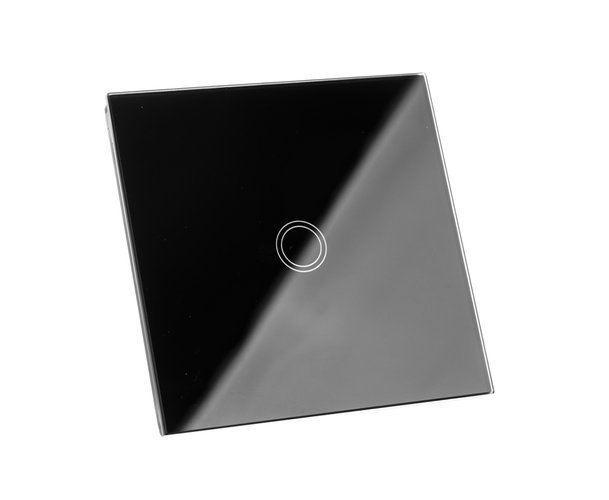 Dotykový vypínač černý