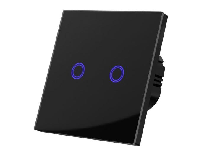 Dotykový vypínač osvětlení č. 5, černý