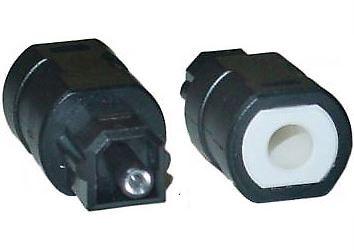 Redukce Minijack-Toslink pro optický kabel