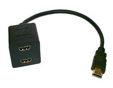HDMI rozdvojka videosignálu