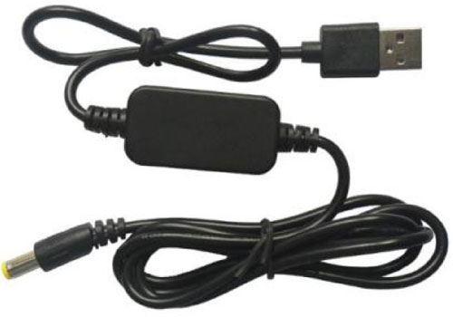 Redukce, step-up měnič USB 5V / DC5,5x2,1mm 12V/0,6A