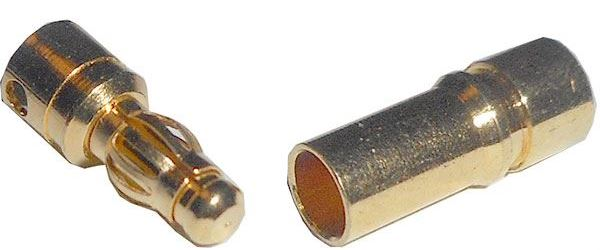 Banánek a zdířka 3,5mm, neizolovány /pružinový konektor/