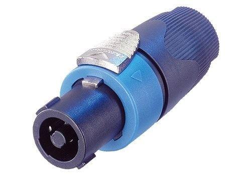 Reprokonektor SPEAK-ON 4p kabelový NEUTRIK NL4 FX