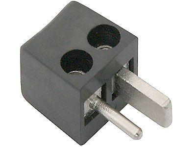 Reprokonektor-upevnění kabelů šroubky