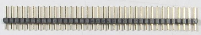 Jumper lišta 1x36pin s roztečí 2,54mm pro PCB