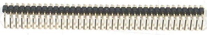 Jumper lišta 1x40pin s roztečí 2,54mm pro PCB úhlová