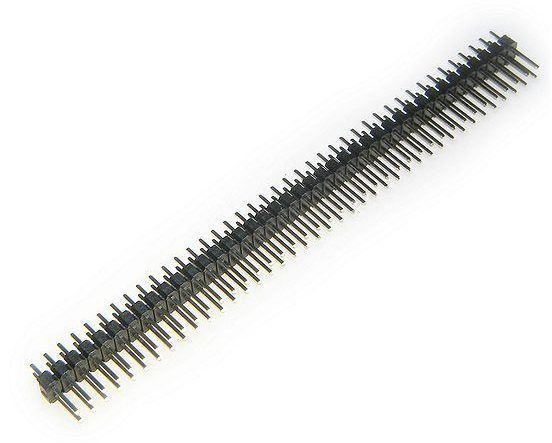 Jumper lišta 2x40 pin s roztečí 2,54mm pro PCB
