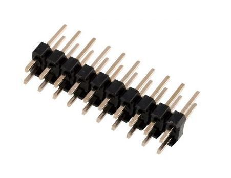 Jumper lišta 2x10pin s roztečí 2,54mm pro PCB