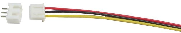 Konektor JST-XH 3pin + kabel 15cm + zdířka JST-XH 3ipn
