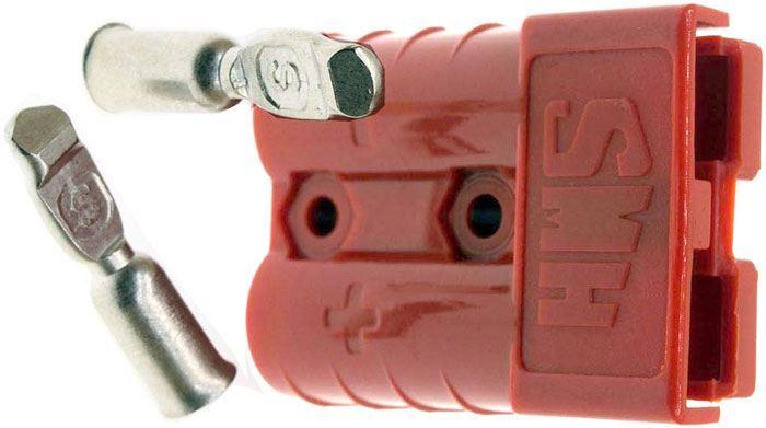 Proudová spona SY50A-600V červená