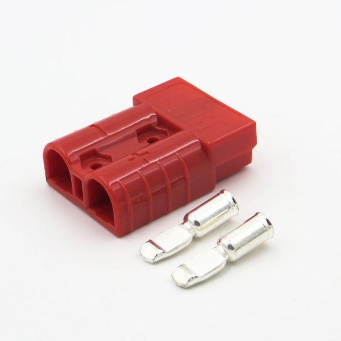 Proudová spona SY120A-600V červená