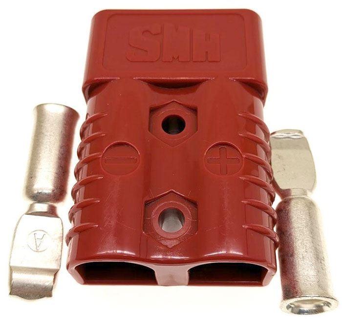Proudová spona SY175A-600V červená