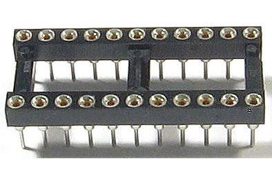 DIL22 patice precizní, RM 2,54mm