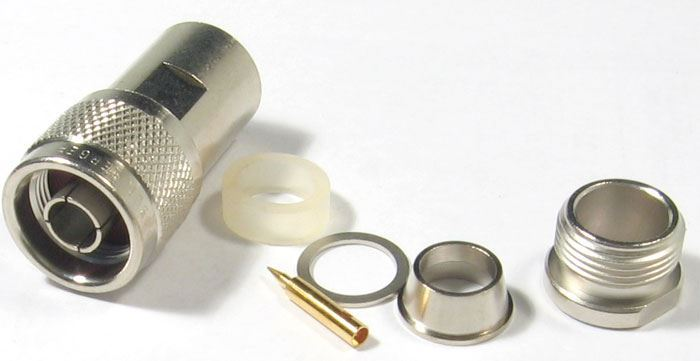 N konektor na koax 10mm šroubovací Rosenberger