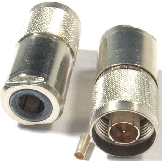 N konektor na koax 10mm šroubovací RFT 50-7-m1