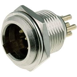 XLR mini konektor 5P na panel
