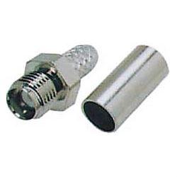 SMA zdířka na koax 5mm(RG58/U) lisovací