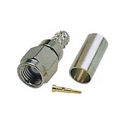 SMA konektor na kabel 3mm(RG174,188,316/U) lisovací
