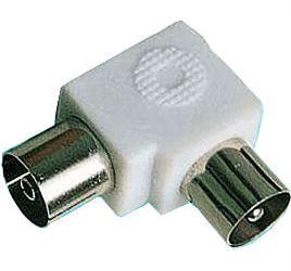 Redukce anténní konektor/anténní zdířka úhlová