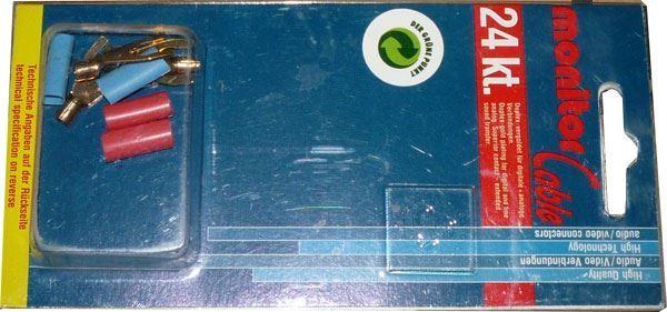 Vidlička pod svorku, kabel 2,5mm2, Inakustik, sada 4ks