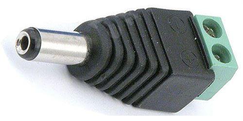 Redukce DC 2,1mm konektor - svorka se šroubky