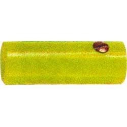Zdířka pro banánek na kabel žlutá